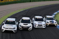 Volkswagen Golf TCR, Honda Civic TCR, Subaru WRX TCR, Seat Leon TCR