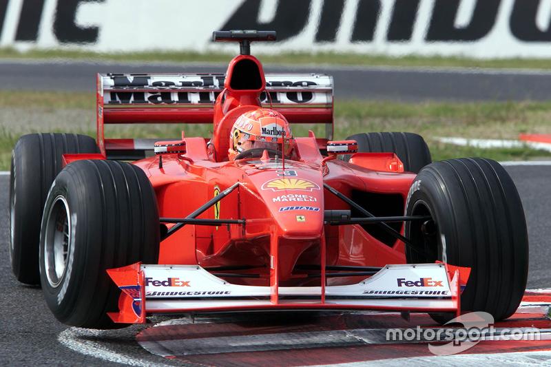 2000 Japán GP, Ferrari F1-2000