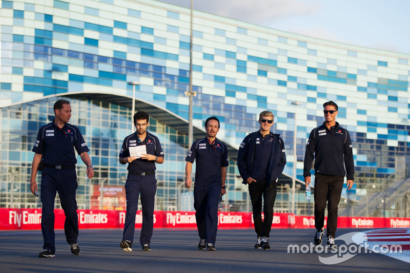 Маркус Ерікссон, Sauber F1 Team йде по треку