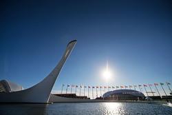 Der Olympiapark in Sotschi