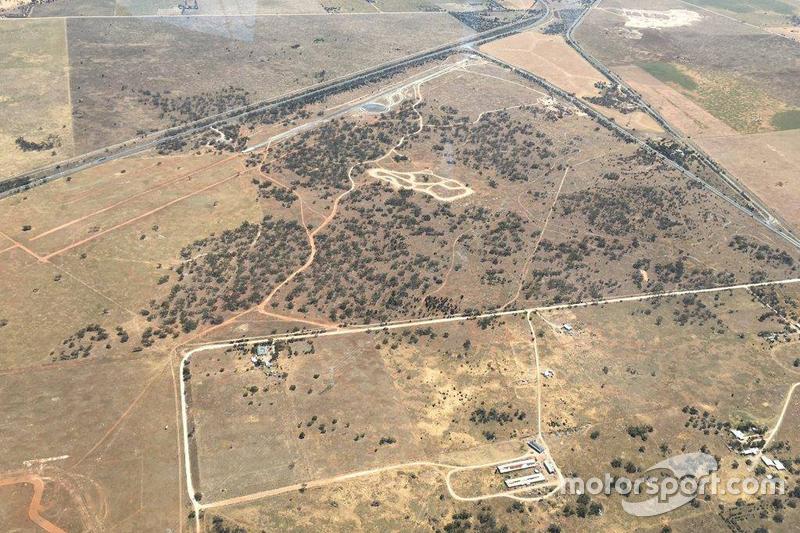 Der SA Motorsport Park aus der Vogelperspektive