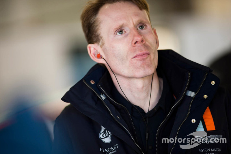 John Gaw, Aston Martin Racing Team Principal