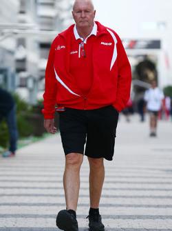 Джон Бут, руководитель команды Manor F1 Team