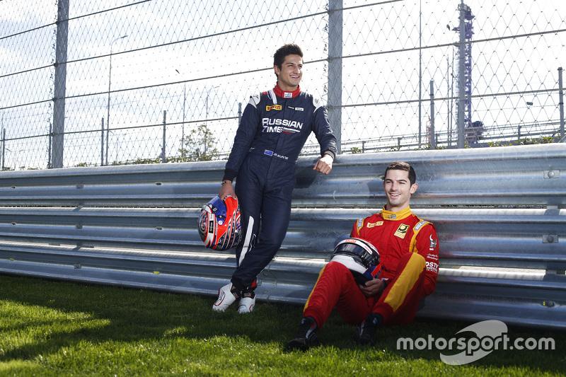 Мітч Еванс, RUSSIAN TIME та Александер Россі, Racing Engineering
