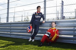 Mitch Evans, RUSSIAN TIME y Alexander Rossi, Racing Engineering
