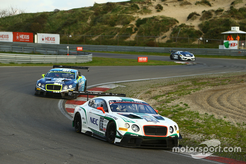 #83 Bentley Team HTP Bentley Continental GT3: Макс ван Сплунтерен, Jules Szymkowiak