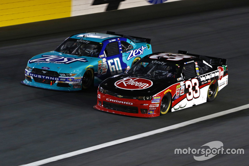Кріс Бюшер, Roush Fenway Racing Ford та Остін ДІллон, Річард Чілдресс Racing Chevrolet