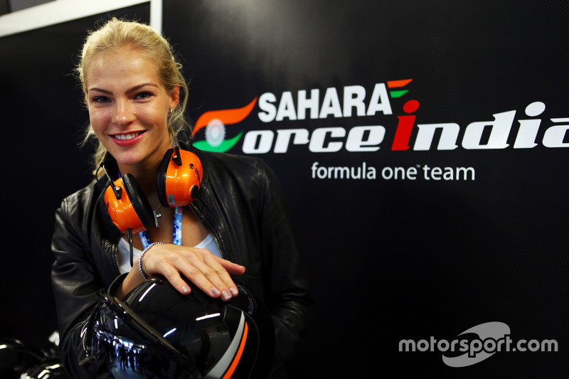 Darya Klishina, Long Jump Athlete with the Sahara Force India F1 Team