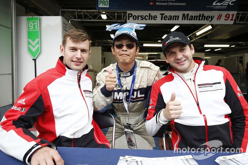 Michael Christensen und Richard Lietz, Porsche Team Manthey