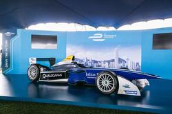Formula E car in Hong Kong