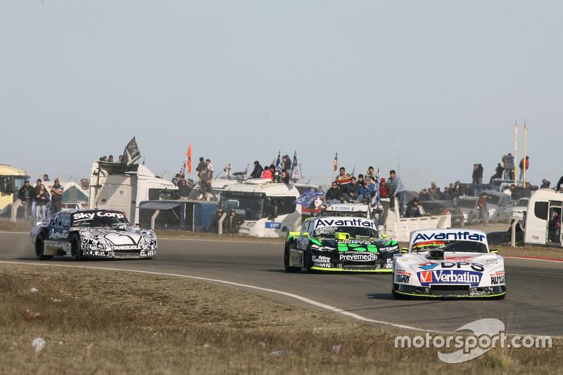 Leonel Sotro, Alifraco Sport Ford, Mauro Giallombardo, Maquin Parts Racing Ford, Laureano Campanera,