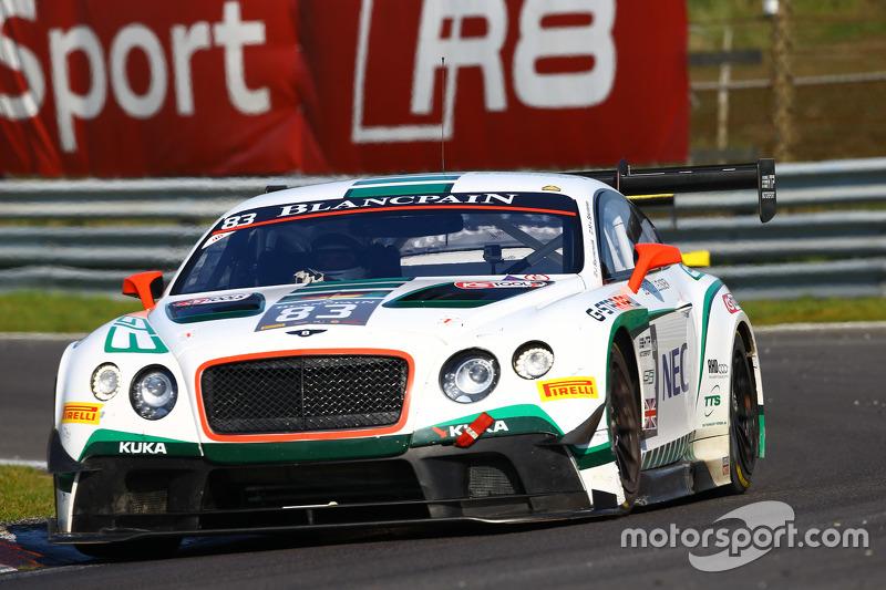#83 Bentley Team HTP Bentley Continental GT3: Макс ван Сплунтерен, Jules Szymkowiak