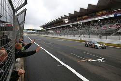 Pemenang balapan, kelas GTE-Am #77 Dempsey Proton Competition Porsche 911 RSR: Patrick Dempsey, Patr