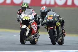 Cal Crutchlow, Team LCR Honda; Bradley Smith, Monster Yamaha Tech 3