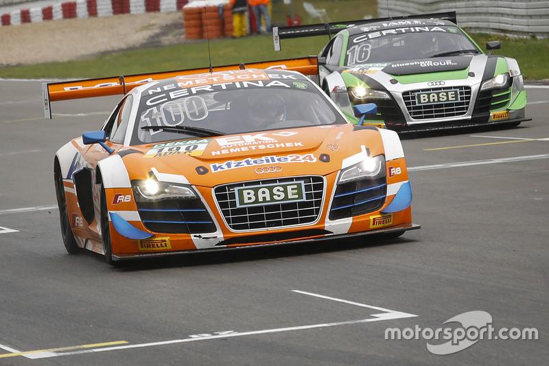 #100 MS Racing Audi R8 LMS ultra: Daniel Dobitsch, Edward Sandström