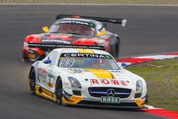 #99 Rowe Racing Mercedes-Benz SLS AMG GT3: Nico Bastian, Stef Dusseldorp