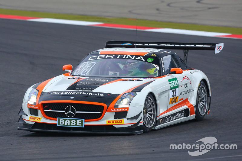 #33 Car Collection Motorsport Mercedes-Benz SLS AMG GT3: Alexта er Mattschull, Ренгер ван дер Занде