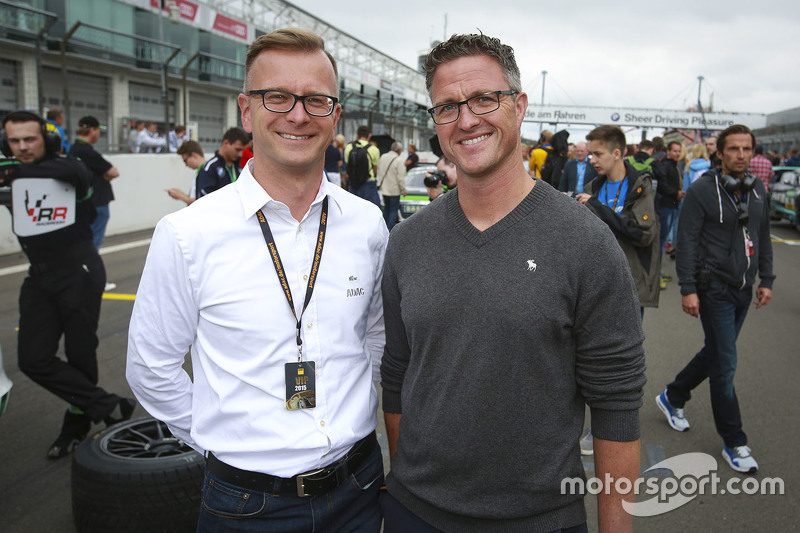 Lars Soutschka bersama Ralf Schumacher