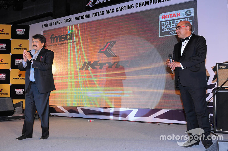 Sanjay Sharma, head of motorsports JK Tyre