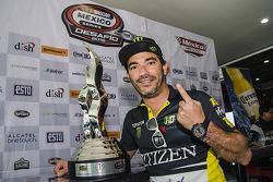 Rubén Pardo, HO Speed Racing durante la conferencia de prensa de Nascar México