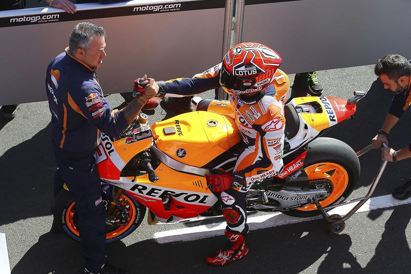 Ganador de la pole, Marc Márquez, Repsol Honda Team