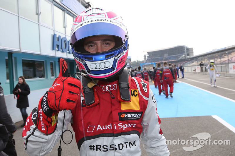 Third place qualifying for Miguel Molina, Audi Sport Team Abt Audi RS 5 DTM