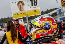 Helmet of Augusto Farfus , BMW Team RBM BMW M4 DTM