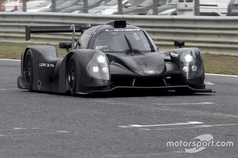 Pierre Fillon, president of the ACO tests the Ligier JS P3 - Nissan