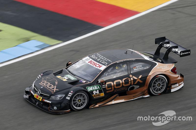 2015: Pascal Wehrlein, Mercedes-AMG C63 DTM, HWA AG