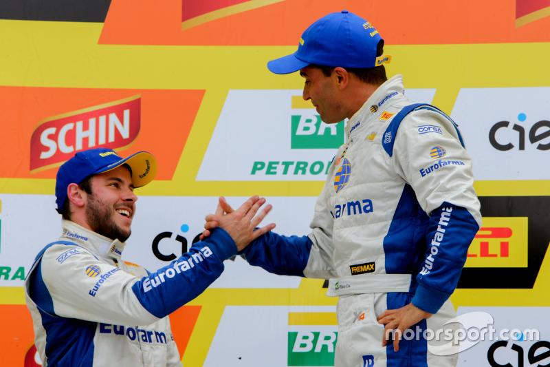 Max e RIcardinho comemoram