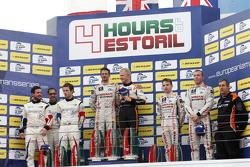 Podium LMP3 : Michael Simpson, Gaëtan Paletou, Team LNT, Eric Trouillet, Garry Findlay, Thomas Accary, Graff Racing, Chris Hoy, Charlie Robertson, Team LNT