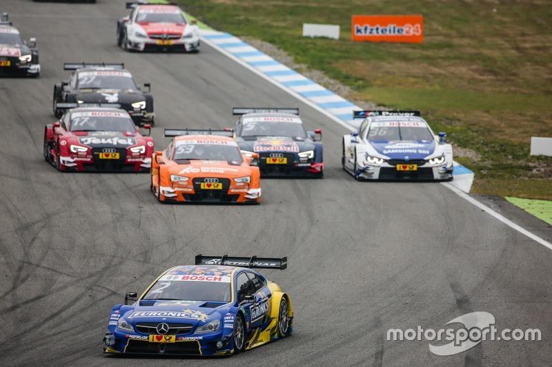Start: Gary Paffett, ART Grand Prix Mercedes-AMG C63 DTM leads