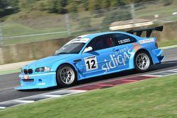 BMW M3 E46 #12 Roberto Del Castello e Luigia Martina Del Castello, RC Motorsport
