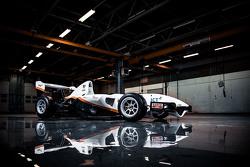 Автомобиль с открытыми колесами InMotion, оснащенный электродвигателем и разработанный студентами Технического университета Эйндховена и Университета прикладных наук Фонтис