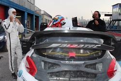 Виталий Петров на тестах Peugeot 208 Supercar