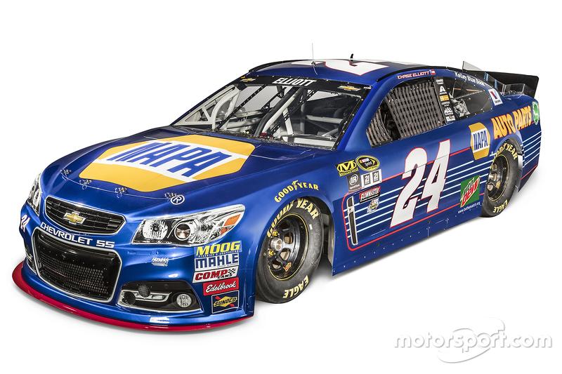 Startnummer 24: Chase Elliott (Hendrick-Chevrolet)