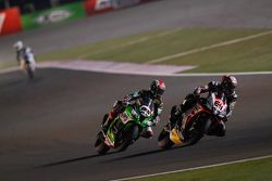 Jordi Torres, Aprilia Racing Team and Jonathan Rea, Kawasaki