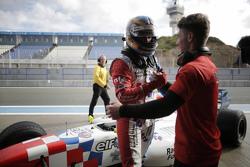 Polezitter Oliver Rowland, Fortec Motorsports