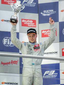 Carrera 2 tercer lugar Felix Rosenqvist, Prema Powerteam Dallara Mercedes-Benz