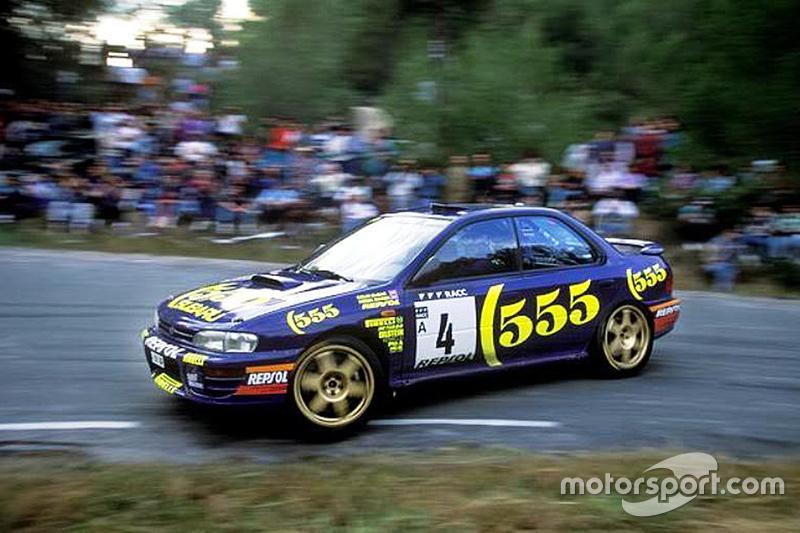 Colin McRae dan Derek Ringer, Subaru World Rally Team