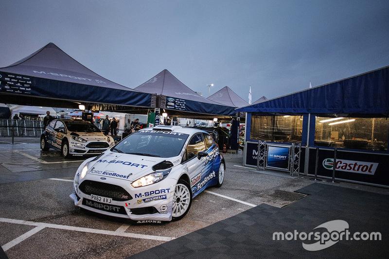 M-Sport Ford територія команди