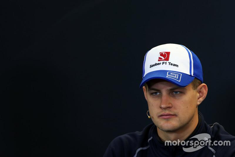 Marcus Ericsson, Sauber F1 Team in the FIA Press Conference