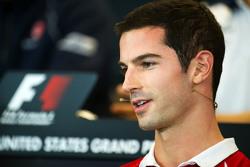 Александр Росси, Manor F1 Team на пресс-конференции FIA
