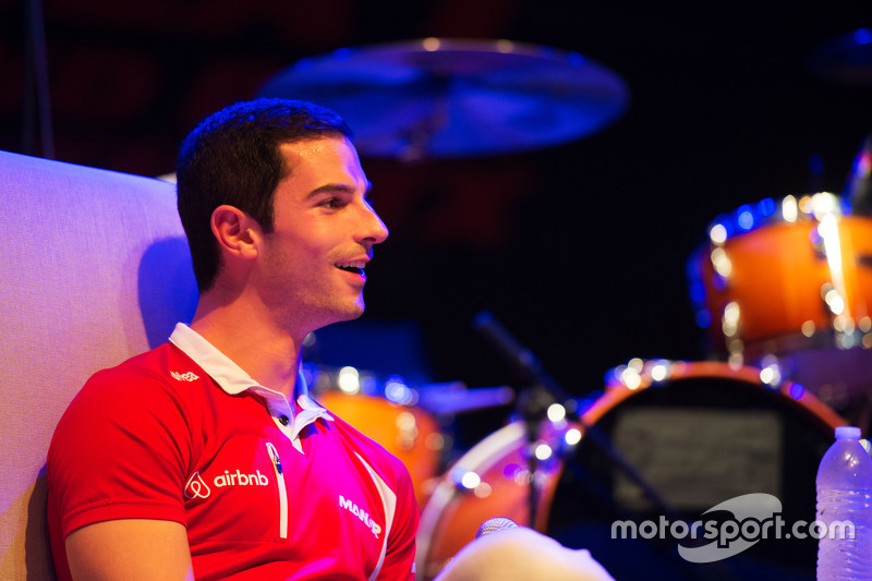 Alexander Rossi, Manor Marussia F1 Team at the Fans' Forum