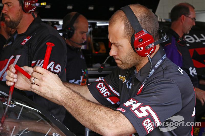 Kurt Busch'un mekanikeri, Stewart-Haas Racing Chevrolet