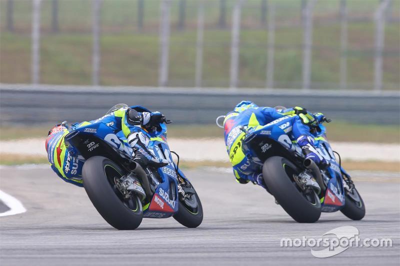 Maverick Viñales, Suzuki MotoGP Takımı ve Aleix Espargaro, Suzuki MotoGP Takımı