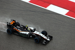 Sergio Perez, Sahara Force India F1 VJM08 in the qualifying session