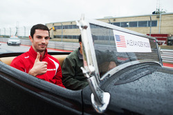 Alexander Rossi, Manor Marussia F1 Team on the drivers parade