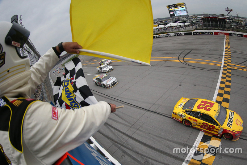 7. Winner Joey Logano, Team Penske Ford