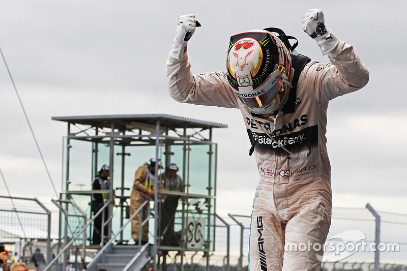 Lewis Hamilton, campeón del mundo 2015